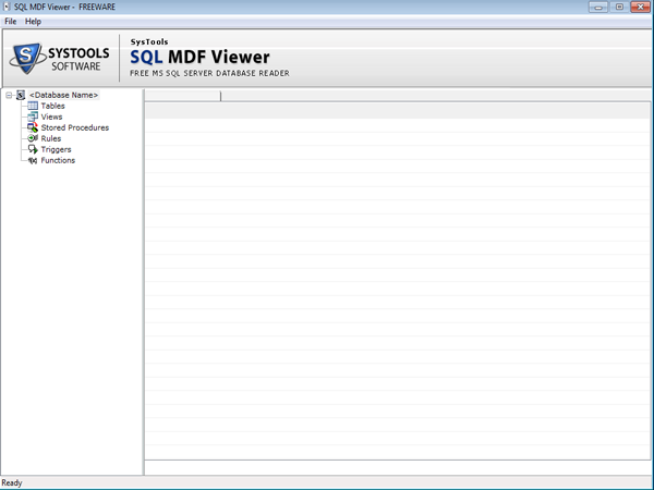 Open MDF Viewer